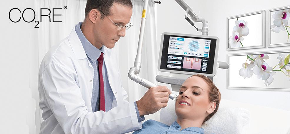 Tratament pentru cicatrici de ultima generatie folosind laserul fractionat CO2RE recomandat de medicii dermatologi.
